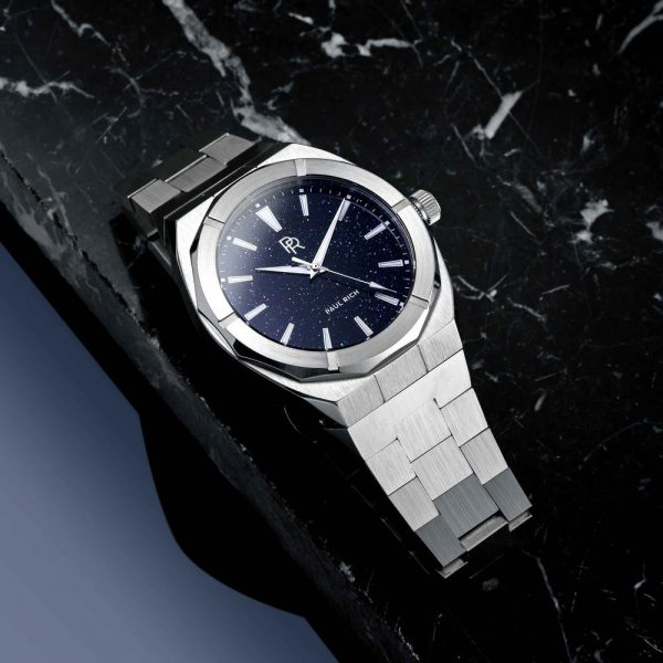 שעון יד לגבר - Paul rich Star Dust Silver