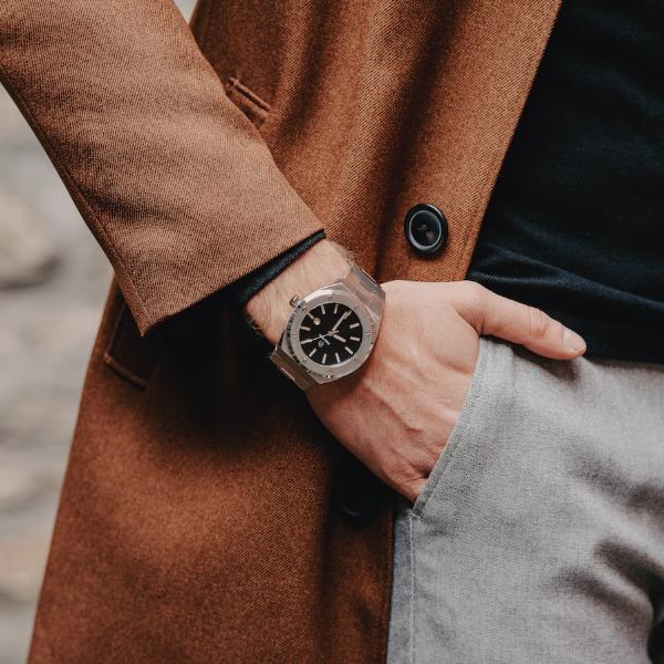 שעון יד לגבר Paul rich Signature - Carbon