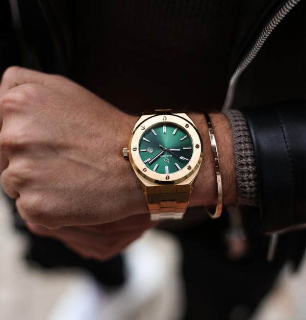 שעון יד לגבר Paul rich - King's Jade