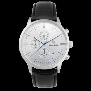 שעון יד לגבר Paul rich Sterling - Black Leather