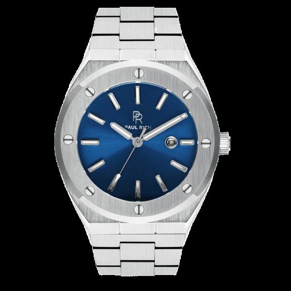 שעון יד לגבר Paul rich Deep Dive - Silver