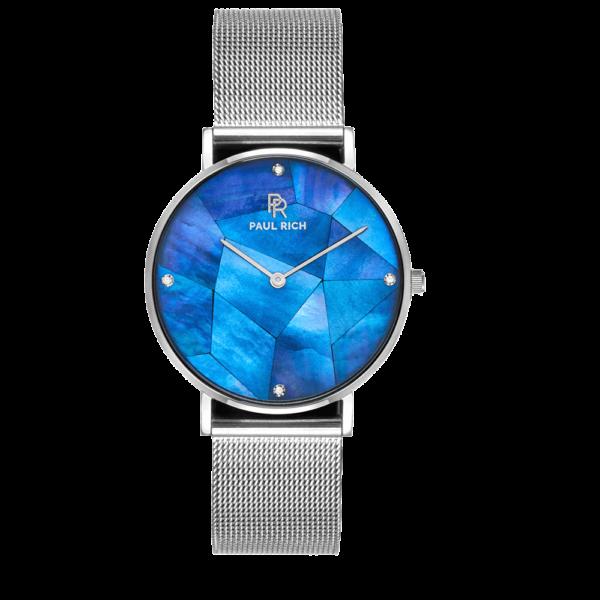 שעון יד לנשים Paul rich Heart of the ocean silver - mesh
