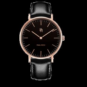 שעון יד לנשים Paul rich Monaco - black gold