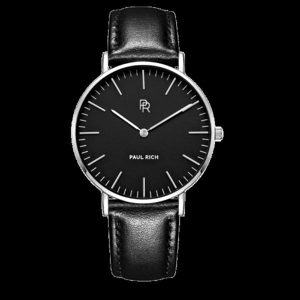 שעון יד לנשים Paul rich Monaco - black silver